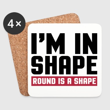 I'm In Shape  - Lasinalustat (4 kpl:n setti)