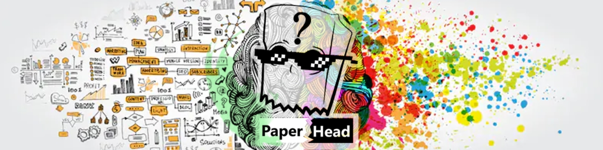 Showroom - Paper Head