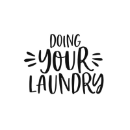 doing your laundry
