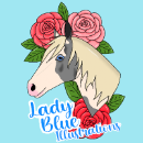 Lady Blue Illustrations
