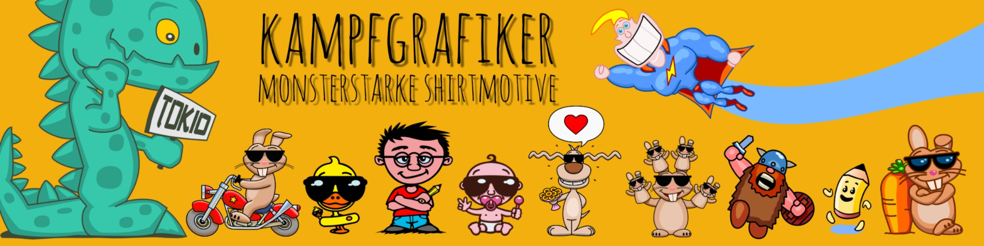 Showroom - Kampfgrafiker
