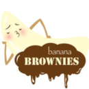 Banana Brownies Art