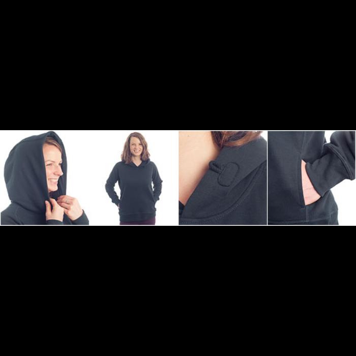Økologisk Stanley & Stella hoodie til damer