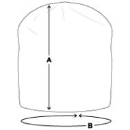 Size chart - Jersey Beanie