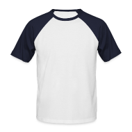 T-Shirts ~ Männer Baseball-T-Shirt ~ Smiley