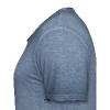 MF T-Shirt VINTAGE-look Men - logo/weiss - Männer Vintage T-Shirt