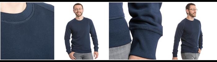 Ekologisk sweatshirt herr från Stanley & Stella