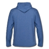 Bucker Español. Camiseta Tri-Blend de American Apparel unisex - Sudadera ligera unisex con capucha