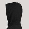 Cissaronid   Dude-Edition   Hoodie - Nugu Buyeng [Black] - Leichtes Kapuzensweatshirt Unisex