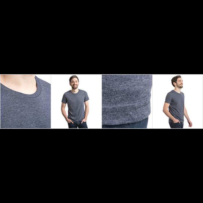 Polycotton T-skjorte for menn