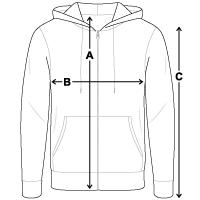Unisex Hooded Jacket | Bella + Canvas