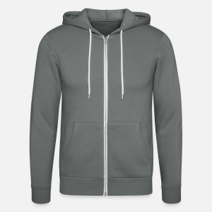 Unisex Hooded Jacket by Bella + Canvas