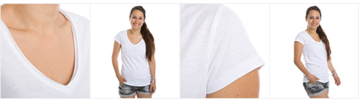 Vintage-T-shirt dam