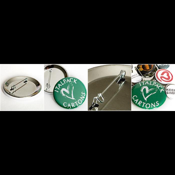 Buttons/Badges mellemstor, 32 mm