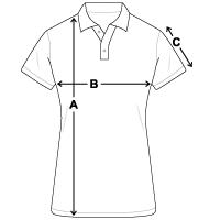 Größentabelle Frauen Polo Shirt