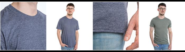 Polycotton-T-shirt unisex
