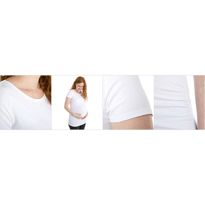 T-skjorte for gravide kvinner