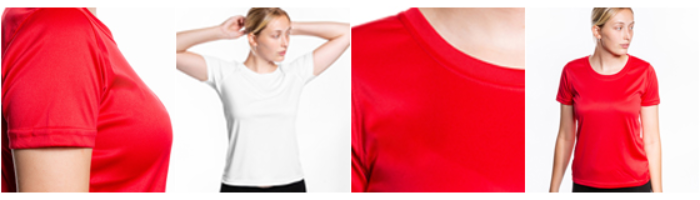 Funktions-T-shirt dam
