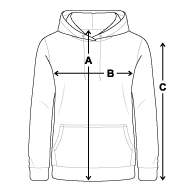 AWDisCool Slightly longer-length hoodie