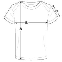 Größentabelle Baby Bio-T-Shirt
