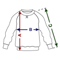 Größentabelle Kinder Premium Pullover