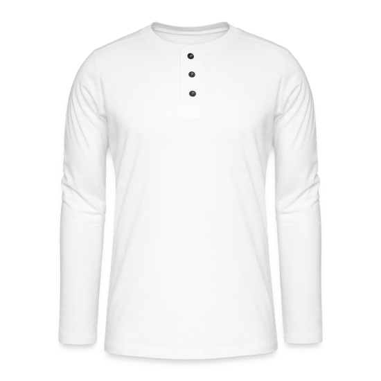 Henley T-shirt med lange ærmer