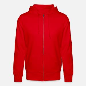 Unisex Organic Zipped Hooded Jacket