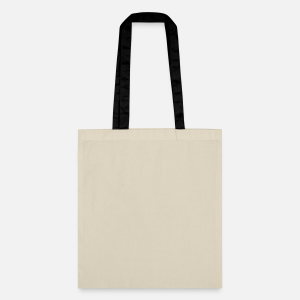Cotton Bag with Long Contrast Handles