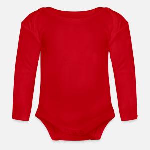 Long-Sleeve Organic Baby Bodysuit