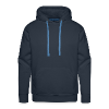 Stop following us paranoid people - Men's Premium Hoodie