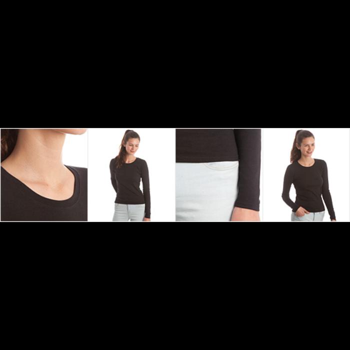 Langermet skjorte kvinner