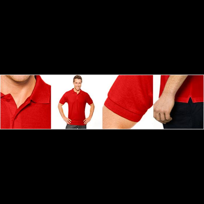 Klassisk poloskjorte for menn