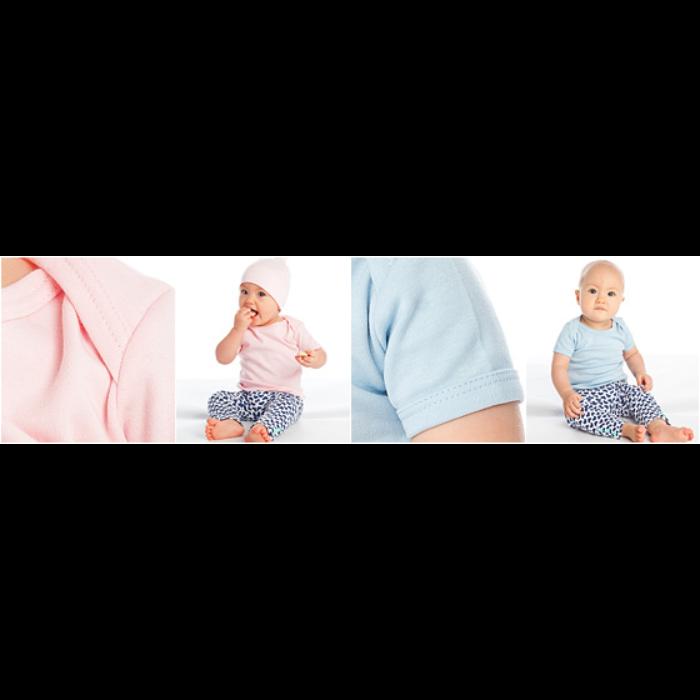 Baby økologisk kortærmet t-shirt