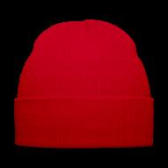 Caps & Hats ~ Winter Hat ~ TEAM ZISSOU Plain Red Beanie Hat Costume