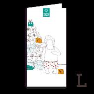 Chèque-cadeaux ~ Chèque-cadeau Poste 50 € ~ Chèque cadeau
