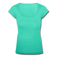 T-Shirts ~ Frauen T-Shirt mit U-Ausschnitt ~ Neu