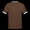 Kontrast Shirt / Männer - Männer Kontrast-T-Shirt