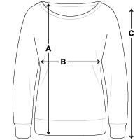 Vrouwen trui met U-hals van Bella
