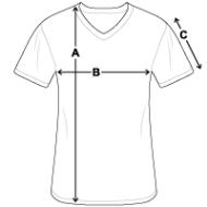 Maattabel Men's Organic V-Neck T-Shirt by Stanley & Stella