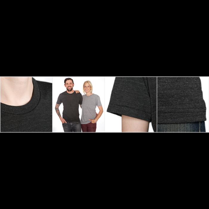 Unisex Tri-Blend T-skjorte fra American Apparel