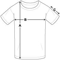 Größentabelle Teenager T-Shirt