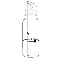 Größentabelle Trinkflasche