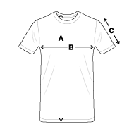 Maßtabelle - Männer Premium T-Shirt