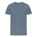 Natural, natural tree shape on grader Men's Premium T-Shirt