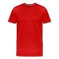 plain red shirt Men's Premium T-Shirt