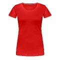 Handy Akku leer Frauen Premium T-Shirt