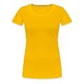 Golden Shower Frauen Premium T-Shirt
