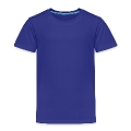 British diamond E (on blue, white, 2c) Kids' Premium T-Shirt