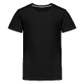 pi outline Teenage Premium T-Shirt
