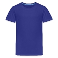 British diamond E (on blue, white, 2c) Teenage Premium T-Shirt